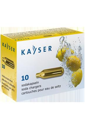 Баллончик для сифона для газирования воды (CO2) 10 шт/уп. KAYSER